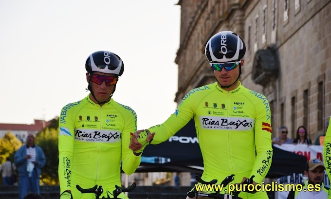 Las fotos de la 1ª etapa de la Volta a Galicia 2017