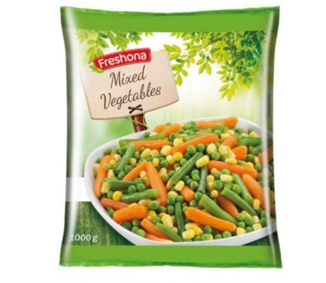 """Προσοχή: Ανάκληση μίγματος λαχανικών """"Freshona"""" από τα Lidl"""