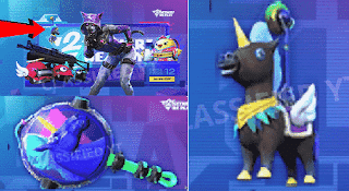 image of unicorn set, pan, and ornament of Season 11 lucky spin update