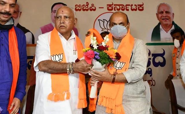 With Basavaraj Bommai as new CM, BJP tries to reassure powerful Lingayat community in Karnataka