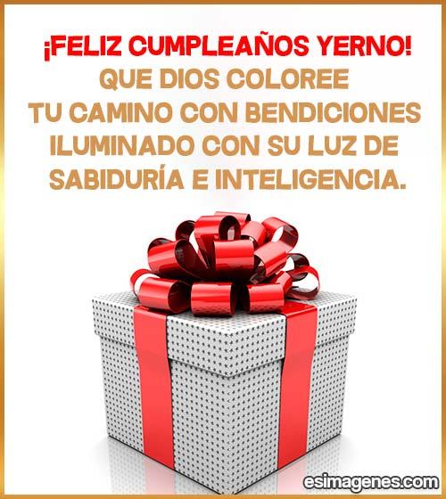 cumpleaños del yerno