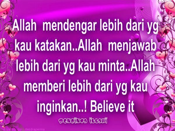 Wordless Wednesday # 528....Minta Dari ALLAH