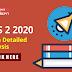 CDS 2 2020 Exam Detailed Analysis:  Check Here