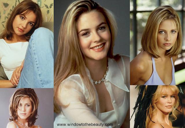 jaki makijaż noszono w latach 90
