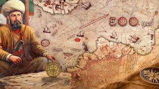 خريطة بيري رايس الغامضة ملف شامل عن الخريطة الغامضه