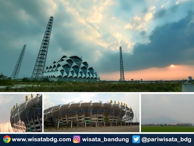 Spot Wisata Instagramable Kawasan Stadion GBLA dan Masjid Raya Al-Jabbar Gedebage