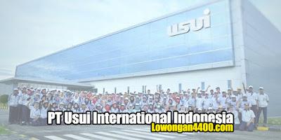 Lowongan Kerja Operator PT. Usui International Indonesia Terbaru