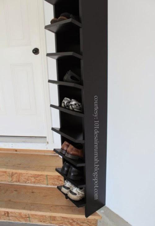 Desain Rumah Ideal: 15 Desain Rak Sepatu Unik dan Minimalis