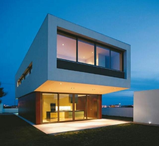 Minimalist House 2 Floors Large Size