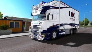 LBC Scania truck + tandem