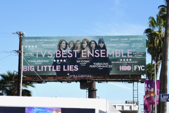 Big Little Lies season 2 FYC billboard