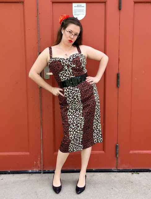 deadly dames leopard vamp