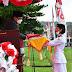 Paskibraka Kota Gunungsitoli Sukses Laksanakan Tugas Penurunan Bendera