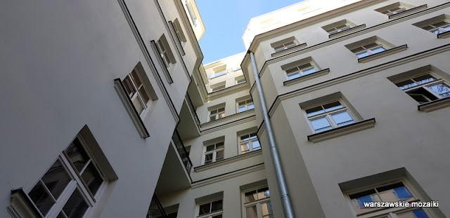 Warszawa Warsaw Praga Północ praskie klimaty kamienica Pod Sowami architektura architecture praskie ulice podwórko studnia
