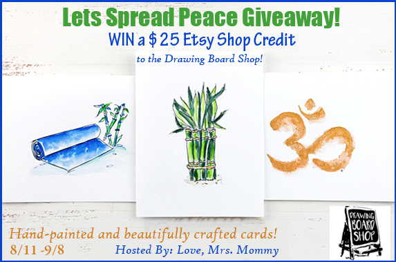 Drawing Board Shop Etsy Giveaway