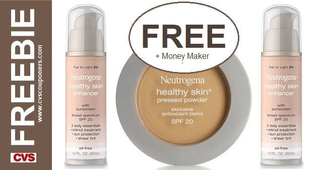 FREE Neutrogena Foundation & Powder at CVS