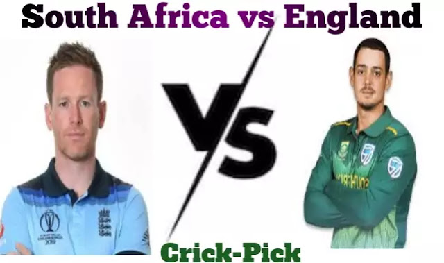 SA Vs ENG - Dream 11 Prediction - 1st T20I Match - Who Will Win Today Match
