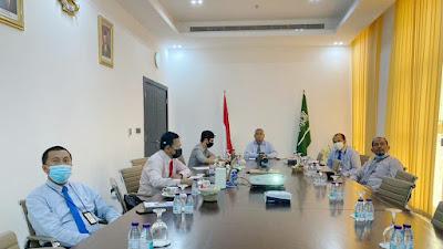 Kemlu Selenggarakan Pertemuan Daring dengan Para Perwakilan di Timur Tengah