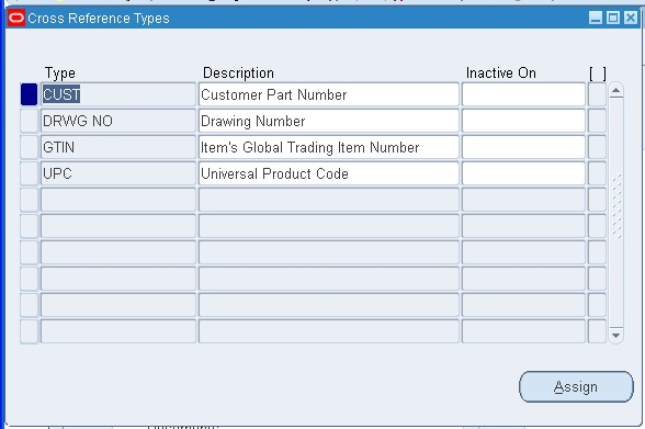 Item Cross References in Oracle Apps R12 ~ Oracle Apps Knowledge Sharing