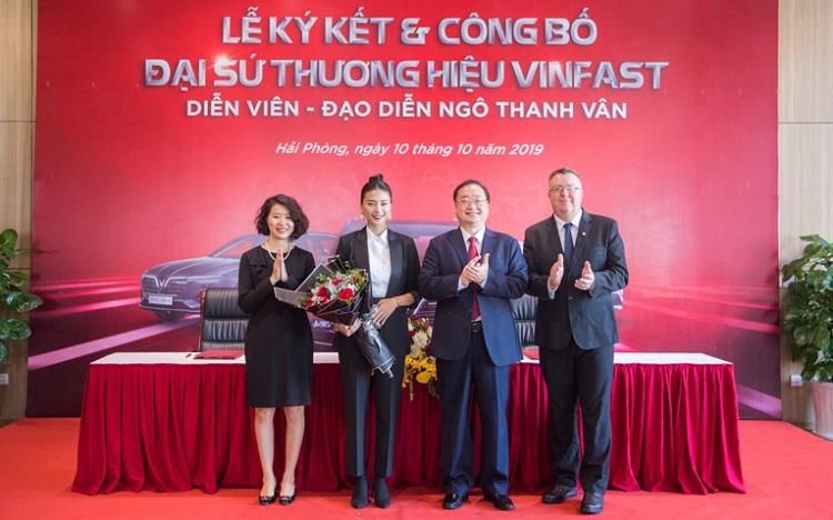 Ngô Thanh Vân làm đại sứ thương hiệu VinFast