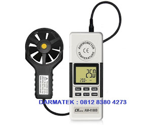 Jual Lutron AM-4100B Anemometer + Temperature