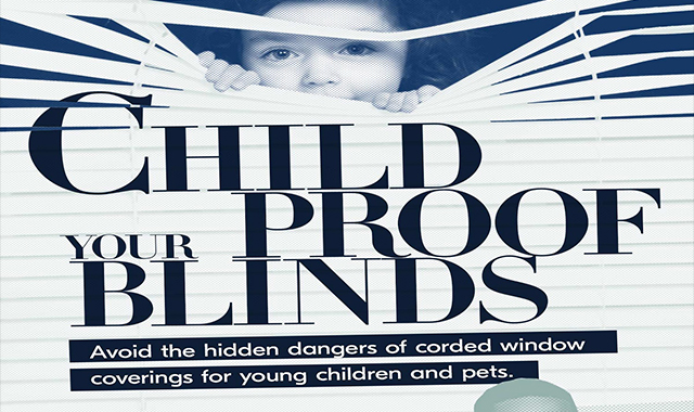 Your blinds, proof of the child #infographic