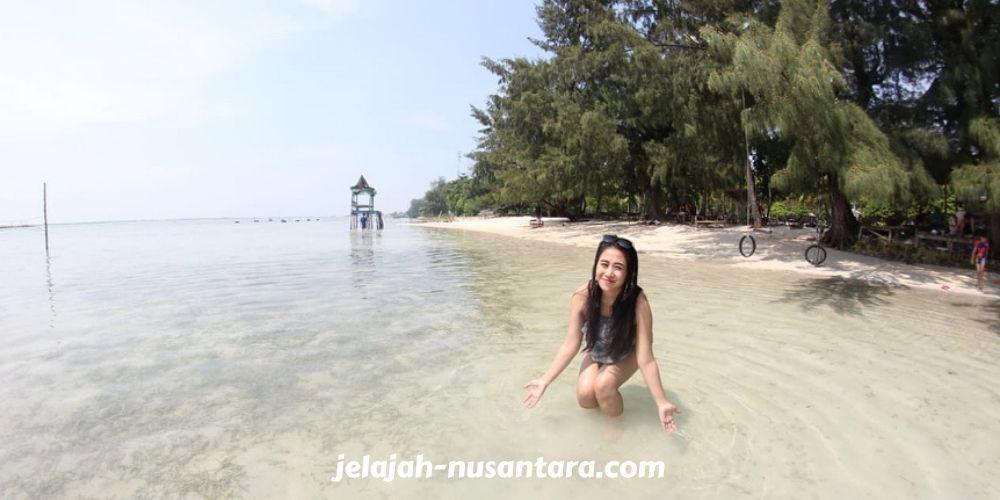 wisata pantai pulau tidung