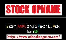 Stock Opname Barang Milik Daerah (BMD) Asset