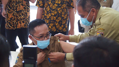 Juaini Taopik: Tidak Ada Pemaksaan, Vaksinasi Tergantung Kondisi Tubuh