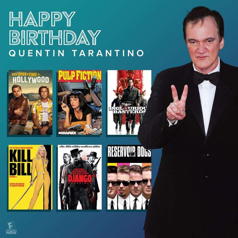 Quentin Tarantino's Birthday Wishes Beautiful Image