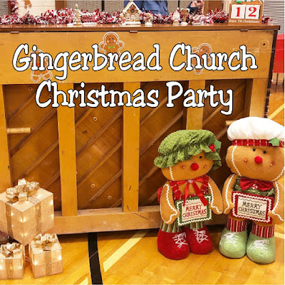 Decorate for your church Christmas party with this fun gingerbread party theme.  With simple and fun gingerbread party decorations and sweet photo booths perfect for families and Santa, this church Christmas party will put everyone in a sweet spirit for Christmas.
