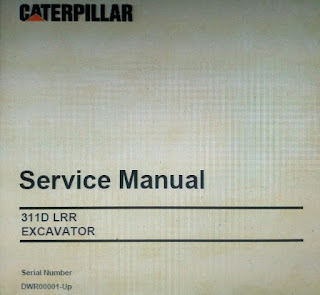 CAT 311D LRR Service Manual Excator
