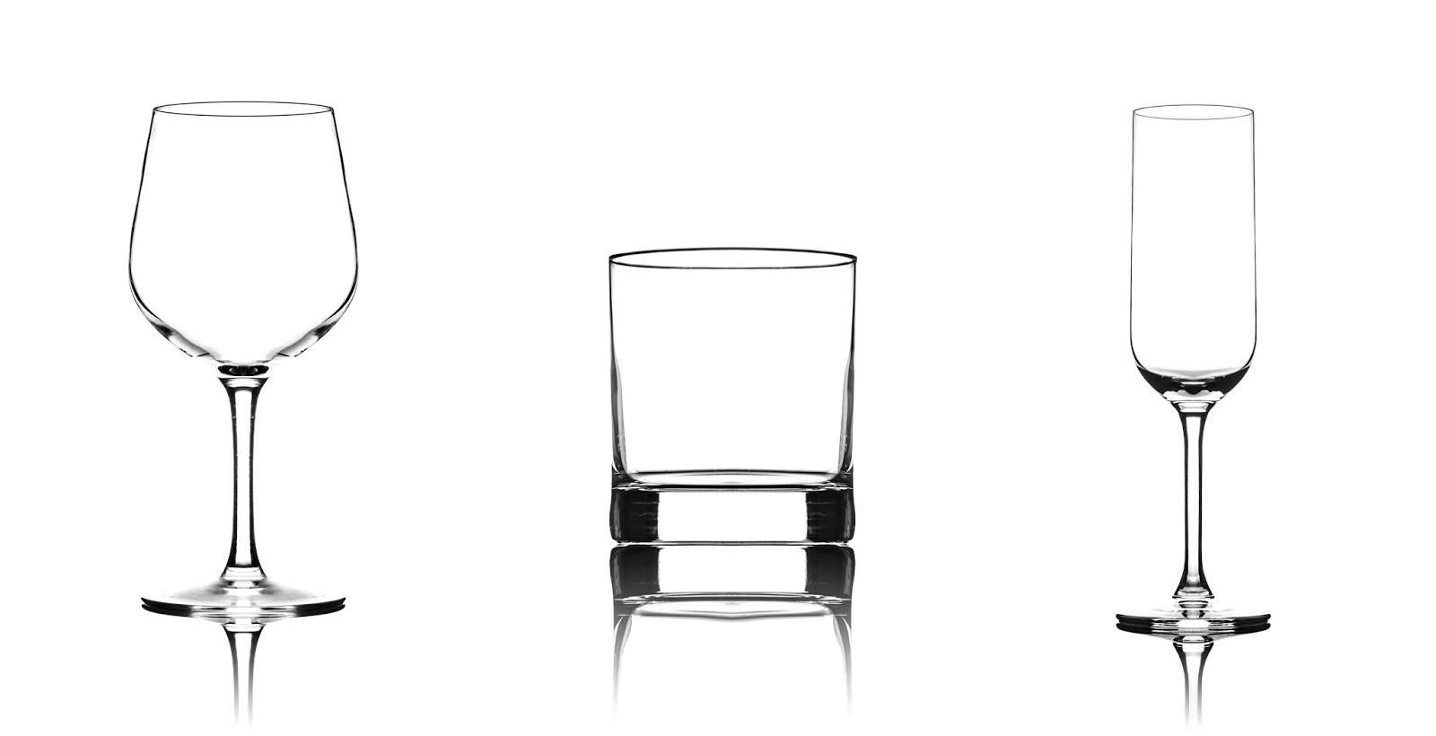 Урок по фотосъемке стеклянной посуды