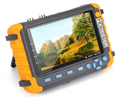 Electop 4 in 1 AHD TVI CVI Coaxial HD Video Monitor Tester