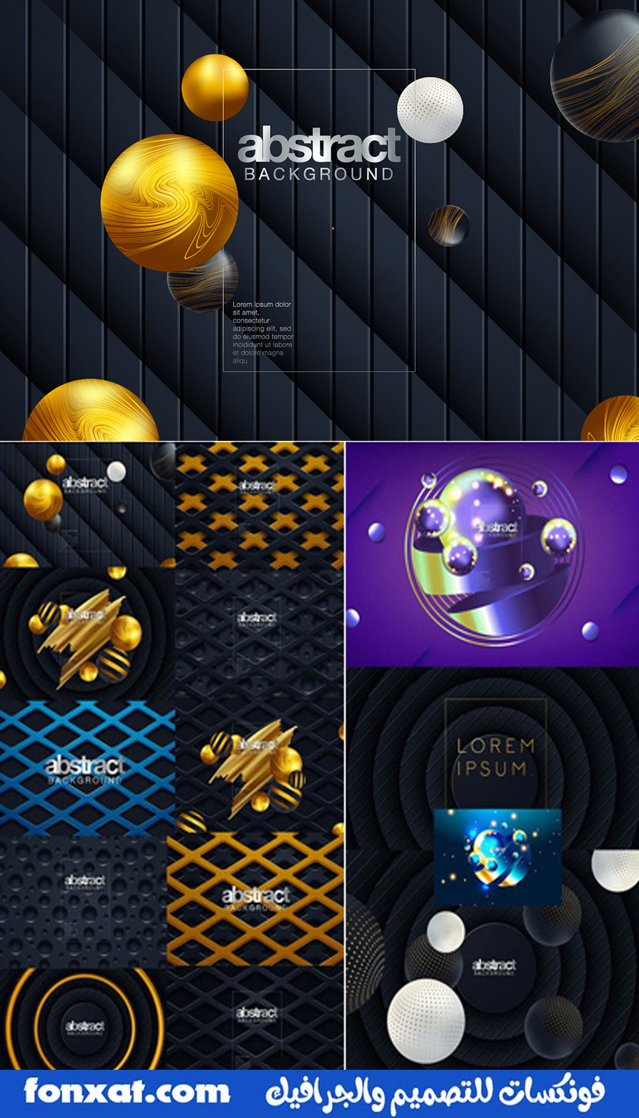 Abstract.3D.Colorful.Geometric.Background.Vector.Set.eps