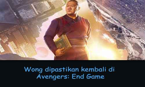 teman doctor strange - wong akan hadir di avengers 4 end game