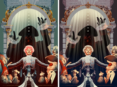 Amadeus Movie Poster Screen Print by Kevin Tong x Evil Tender x Black Dragon Press