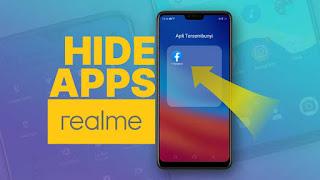 cara menyembunyikan aplikasi di hp realme