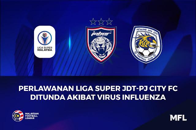 Ini Rupanya Punca Perlawanan JDT vs PJ City ditunda