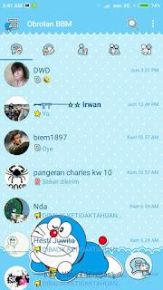 BBM Mod Doraemon v3.2.0.6 Update Terbaru Gratis