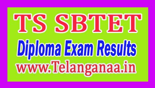TS SBTET Diploma (C14) 1st Yr & 3/4 Sem Supply Exam Results