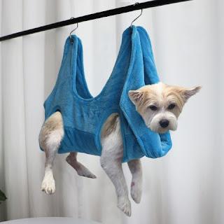 Pet Cat Grooming Hammock Helper Cat Grooming Hammocls Restraint Bag Puppy Dog Cat Nail Clip Trimming Bathing Bag