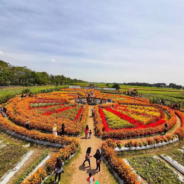 Taman Bunga di Kediri