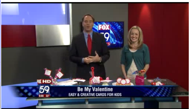 Valentine Fox 59 News Segment - Be My Valentine 3