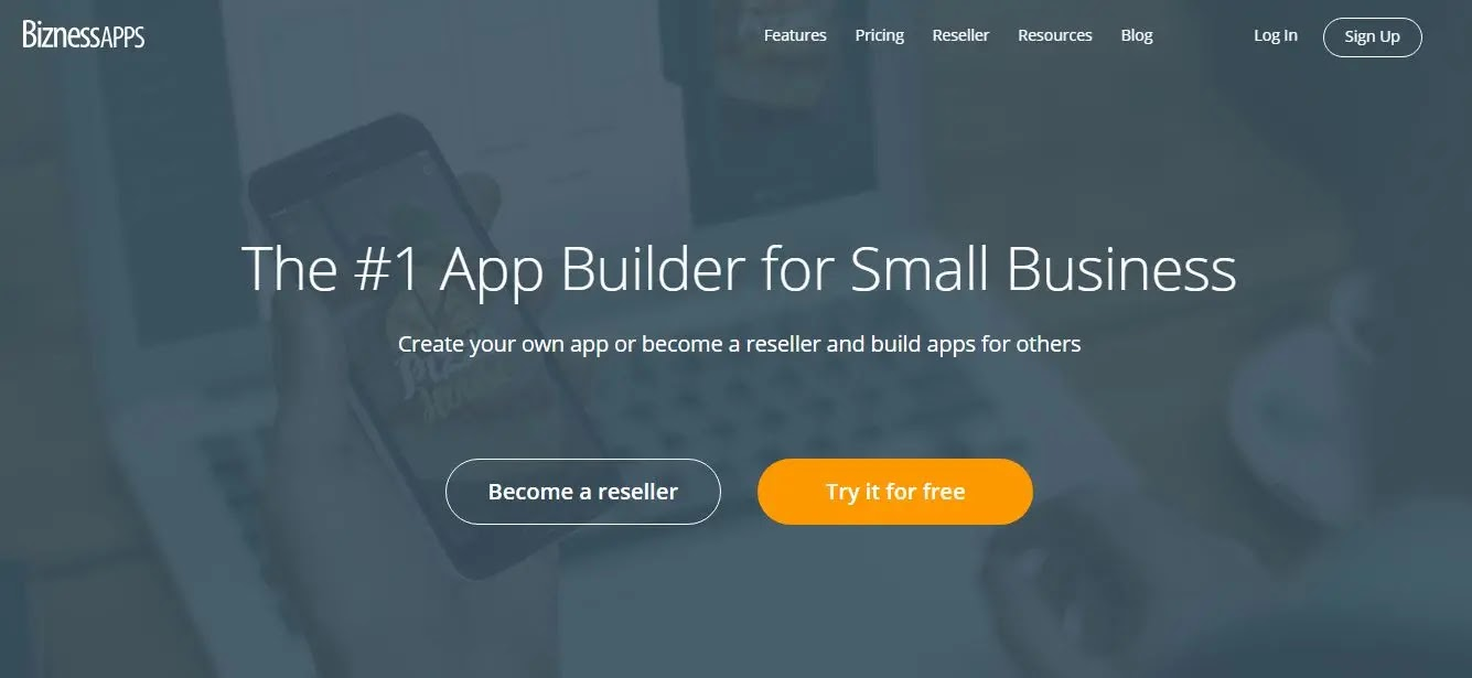 How to create an android app without coding using BiznessApps