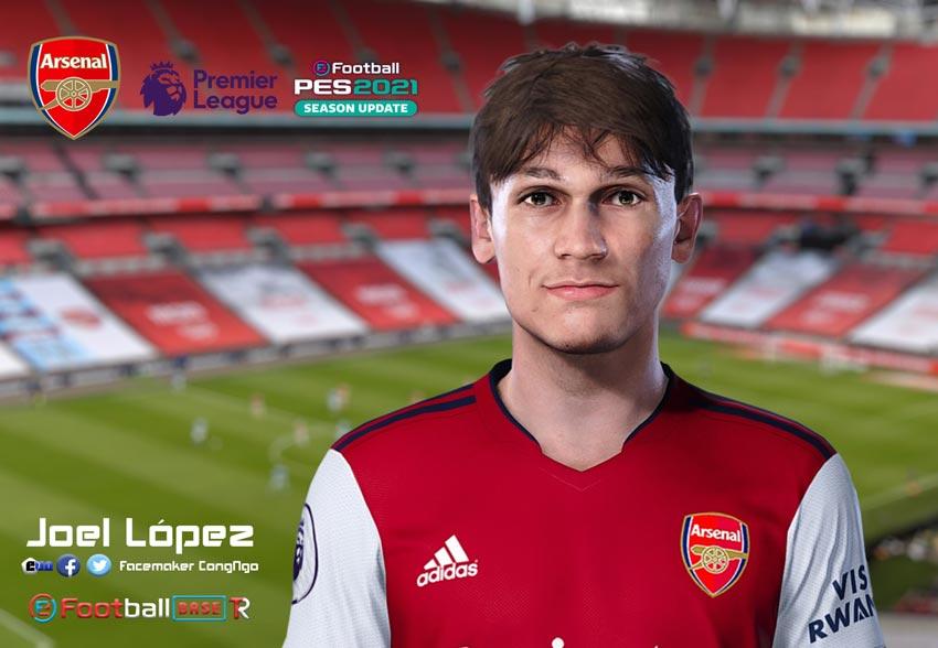 Joel López Face For eFootball PES 2021