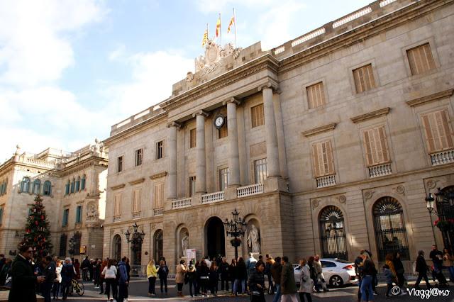 Il Gran Teatre de Liceu lungo la Rambla