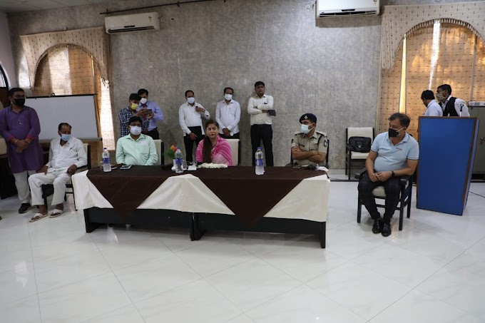 कोविड से बचाव एवं नियंत्रण में समाजसेवियों की महत्वपूर्ण भूमिका रही - मंत्री यशोधरा राजे सिंधिया