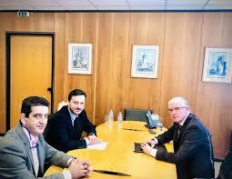 Συνάντηση Απ. Πάνα με τον Πρόεδρο του ΕΛΓΑ, Αντρέα Λυκουρέντζο,  για τις αποζημιώσεις των αγροτών της Χαλκιδικής.