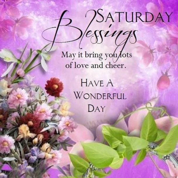 Saturday wishes in nature images